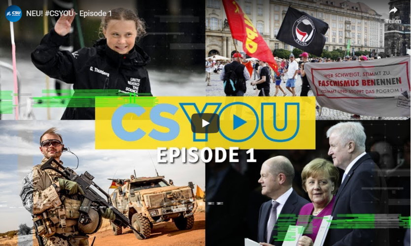 CSU-YouTuber? – CSYOU! (Kommentar)