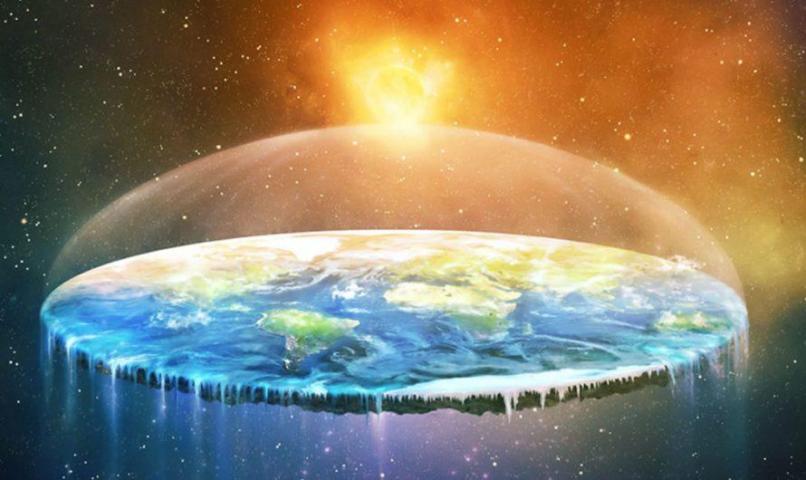 … die Erde flach wäre?